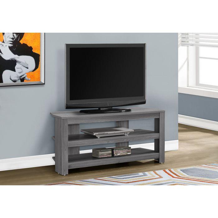 Meuble Tv 42 L En Coin Gris Monarch I 2566