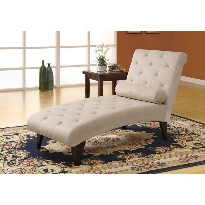 Chaise Tissu Velours 8032 De Longue Taupemonarchi vywmn0N8O