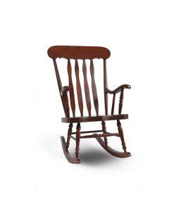 Chaise berçante (STJEN/539/CHOCOLAT)