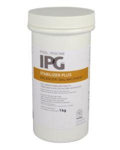 Stabilisant d'eau de piscine en pastilles, 1 Kg (SANIC/30-21345/)