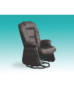 Chaise sur billes en cuir (PEL/115417-15/6031-62/5915-62)