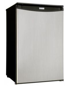 Réfrigérateur compact 4.4 pi³ en acier inoxydable de Danby (DANBY/DAR044A4BSSD/4.4 STAINLESS)