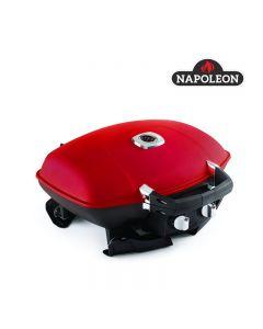 Gril portatif au propane avec grille TravelQ,12 000 BTU, 24'', rouge (NAPON/TQ285-RD-A/)