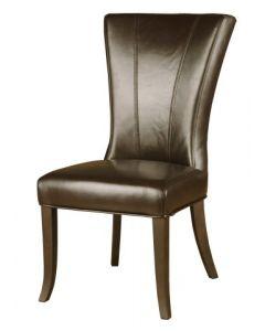 Chaise de mobilier de cuisine - Brun (KUKA/Y555-BRUN/BRUN)