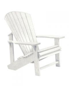 Chaise classique Adirondack (C.R./ADIRON C01/02 BLANC)