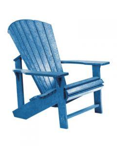 Chaise classique Adirondack (C.R./ADIRON C01/03 BLEU)