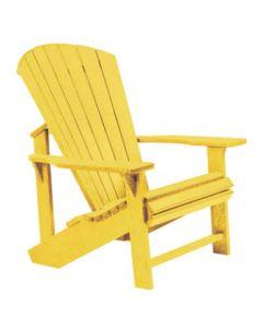 Chaise classique Adirondack (C.R./ADIRON C01/04 YELLOW)