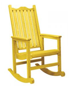 Chaise bercante (C.R./POR/ROCK C05/04 YELLOW)