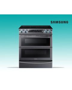 Cuisinière 30 pouces de 5,8 pieds cubesavec technologie Flex DuoÖ (SAMSI/NE58K9850WG/BLACK STAINLESS)