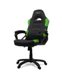 Chaise de bureau ergonomique Enzo - Noir/Vert (ASI/ENZO-C/177575-NOIR/VERT)