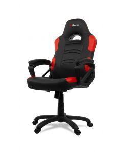 Chaise de bureau ergonomique Enzo - Noir/Rouge (ASI/ENZO-C/177577)