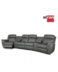 Sectionnel cinéma-maison motorisé (ELRAN/4057-HTC4/2/6031-61/5915-61)