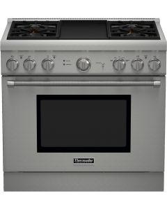Cuisinière encastrée au gaz naturel, 36'', Professional Series Pro Harmony de Thermador
