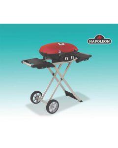 Barbecue portatif et chariot pliable (NAPON/TQ285X-RD/)