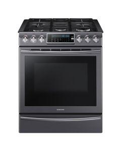Cuisinière au gaz encastrable, four à convection de 5,8 pi³, acier inoxydable noir (SAMSI/NX58K9500WG/BLACK STAINLESS)