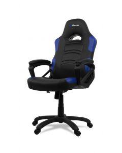 Chaise de bureau ergonomique Enzo - Noir/Bleu (ASI/ENZO-C/177574-NOIR/BLEU)