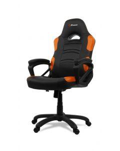 Chaise de bureau ergonomique Enzo - Noir/Orange (ASI/ENZO-C/177576-NOIR/ORAN)