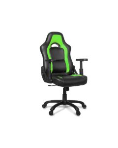 Chaise de bureau ergonomique Mugello - Noir/Vert (ASI/MUGELLO-C/NOIR/VERT)