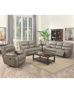Mobilier de salon inclinable - Sofa (ELEME/VINO-S/GRIS)