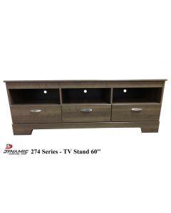 Meuble de télévision - 60 pouces (DYNAS/274-143/GRIS)