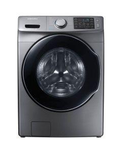 Laveuse à chargement frontal de 5,2 pi³, platine (SAMSI/WF45M5500AP/STAINLESS)