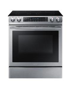 Cuisinière électrique de 30'' encastrable à 5 brûleurs, four de 5.8 pi3, acier inoxydable  (SAMSI/NE58M9430SS/)