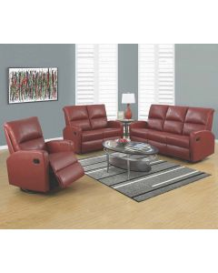 Sofa inclinable (MONAR/84RD-R/L/A/ROUGE)