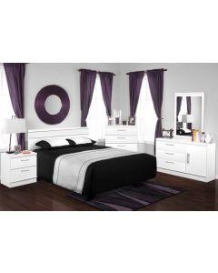 Mobilier de chambre à coucher - Bureau double (DYNAS/200-821/)