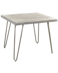 Table de bout (WORWI/501-399LG/LIGHT GREY)