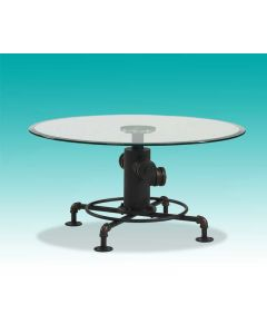 Table de centre (WORWI/301-267BK/ANTIQUE BLACK)