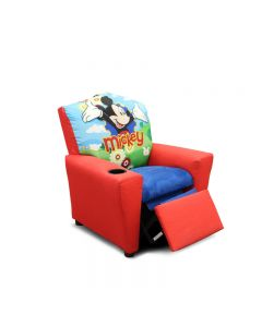 Mini fauteuil inclinable - Mickey (KIDZ/1300-2DMIC/MICKEY MOUSE)