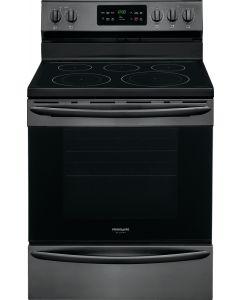 Cuisinière électrique de 30 pouces en acier inoxydable noir (FRIGI/CGEF3037TD/)