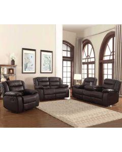 Mobilier de salon inclinable - Sofa (FRANC/80891-S/EXPRESSO)
