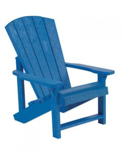 Chaise pour enfant Adirondack (C.R./KIDS C8 ADI/03 BLEU)