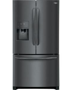 Réfrigérateur 36'' à profondeur de comptoir de 21,7 pi³ à portes françaises et en acier inoxydable noir (FRIGI/FGHD2368TD/)