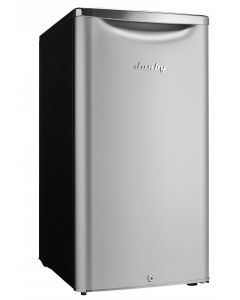 Réfrigérateur compact 3.3 pi³ gris de Danby (DANBY/DAR033A6DDB/3.3 GRIS)