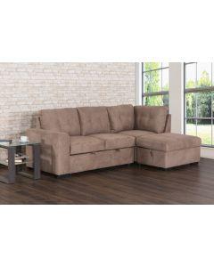 Sofa-lit avec rangement (PRIMO/DELFINA-SEC/NOBEL/EARTH)