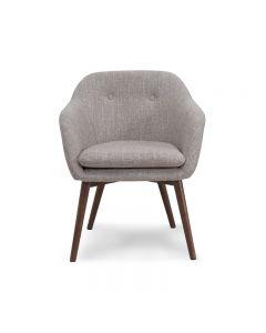 Chaise accent - Beige (WORWI/403-194BG/)