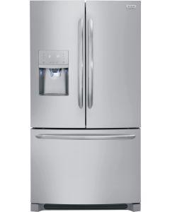 Réfrigérateur 36'' à profondeur de comptoir de 21,7 pi³ à portes françaises et en acier inoxydable (FRIGI/FGHD2368TF/STAINLESS)