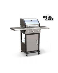 Barbecue au propane - 36 000 BTU - Acier inoxydable (GRILL/BG-2503-SS/36,000 BTU)