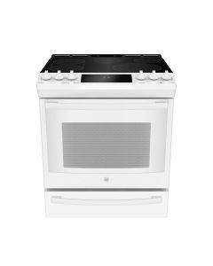 Cuisinière électrique encastrable blanche de 30'' à convection véritable (GE/PCS940DMWW/)