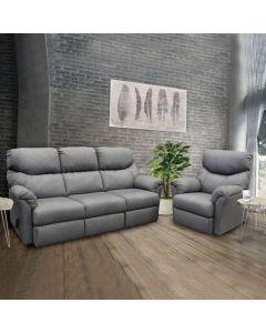 Mobilier de salon inclinable - Fauteuil (ELRAN/90112-02/4731-91)