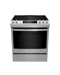 Cuisinière encastrable électrique de 30'' avec four autonettoyant, acier inoxydable  (GE/JCS840SMSS/STAINLESS)
