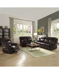 Mobilier de salon inclinable - Sofa (FRANC/52430-S/BRUN)
