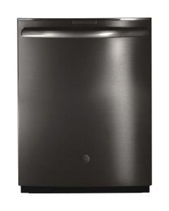 Lave-vaisselle intégré de 24'' en acier inoxydable noir (GE/PDT845SBLTS/BLACK STAINLESS)
