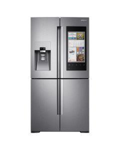 Réfrigérateur profondeur comptoir de 22 pi³ à 4 portes, 36'', Family Hub, Wi-Fi, acier inoxydable (SAMSI/RF22M9581SR/STAINLESS)