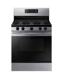 Cuisinière au gaz non encastrée, 5,8 pi³, acier inoxydable (SAMSI/NX58M3310SS/)