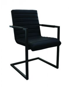 Chaise de cuisine à bras (TUFF/7940-NOIR/)