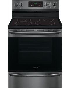 Cuisinière électrique de 30'', four autonettoyant de 5,4  pi³, acier inoxydable noir (FRIGI/CGEF3036UD/)