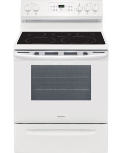 Cuisinière électrique de 30'', four autonettoyant de 5,4 pi³, blanc (FRIGI/CGEF3036UW/)